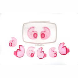 Doc's Proplugs - Solid (Non-Vented), Pink Combo Pack